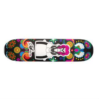 Dia De Lost Muertos (Day of the Dead) Skateboard Deck