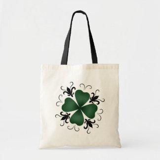 Día de lujo del St Patricks del trébol del