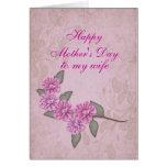 Día de madres a la tarjeta del personalizable de l