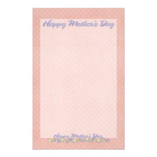 Día de madres - AÑADA SU FOTO - flores de la prima Papelería