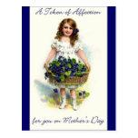 Día de madres del vintage tarjeta postal