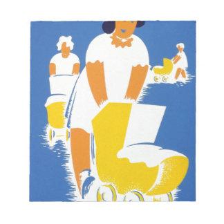 día de madres feliz blocs de papel