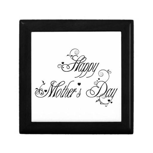 Día de madres feliz cajas de joyas