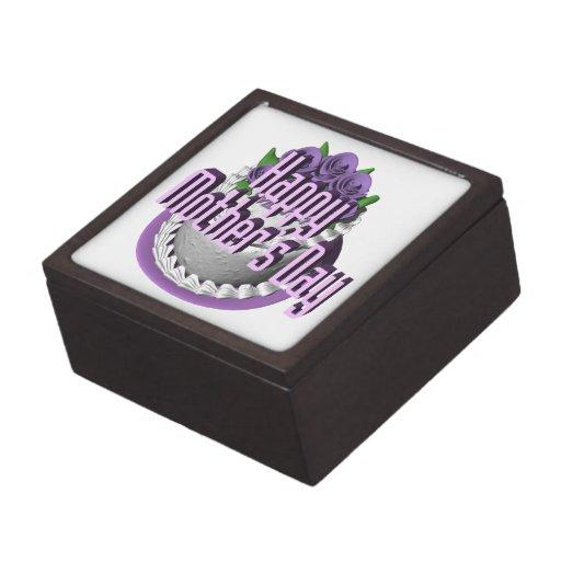 Día de madres feliz cajas de joyas de calidad