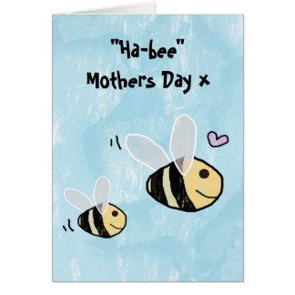 Día de madres feliz - día de madres de la Hap-Abej Tarjeton
