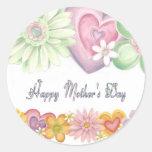 Día de madres feliz etiquetas