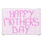 Día de madres feliz. Flor rosada Pern