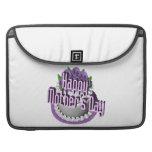 Día de madres feliz funda macbook pro