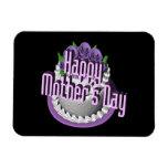 Día de madres feliz imanes flexibles