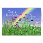 Día de madres feliz para las flores de la primaver felicitacion