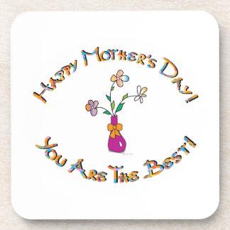 Día de madres feliz posavaso