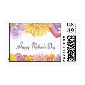 Día de madres feliz sello
