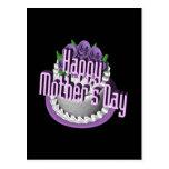 Día de madres feliz tarjeta postal