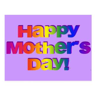 ¡Día de madres feliz! Tarjetas Postales