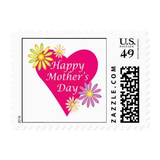 Día de madres feliz timbres postales