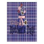 Día de madres floral postal
