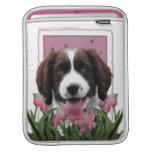 Día de madres - perro de aguas de saltador inglés  fundas para iPads