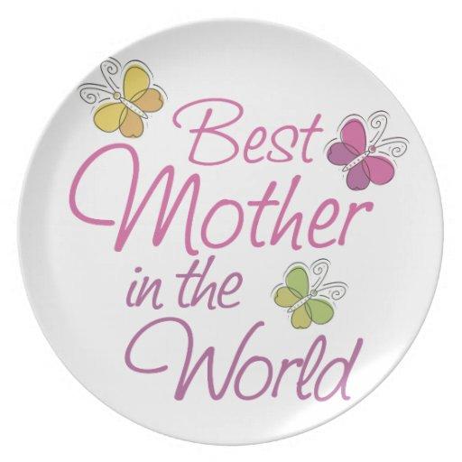 Día de madres plato