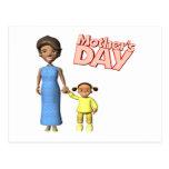 Día de madres postal