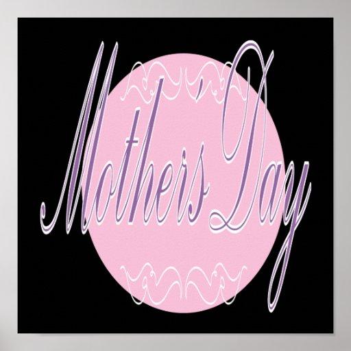 Día de madres póster