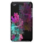 Día de madres - reflexión floral iPod touch cárcasas