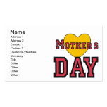 Día de madres tarjetas de visita