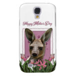 Día de madres - tulipanes rosados - canguro