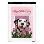 Día de madres - tulipanes rosados - Dalmatian