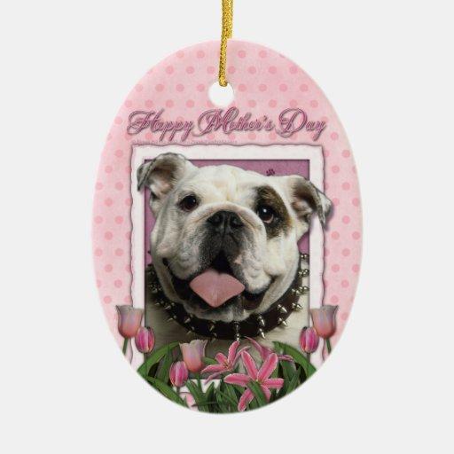Día de madres - tulipanes rosados - dogo ornamentos de reyes magos