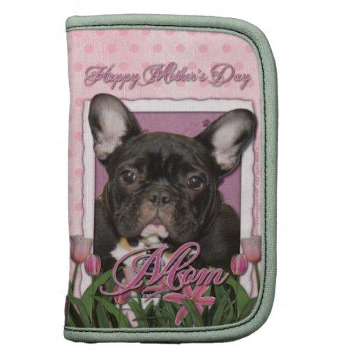 Día de madres - tulipanes rosados - Frenchie - tru Organizadores