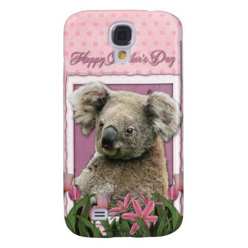 Día de madres - tulipanes rosados - koala