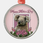 Día de madres - tulipanes rosados - koala adorno para reyes