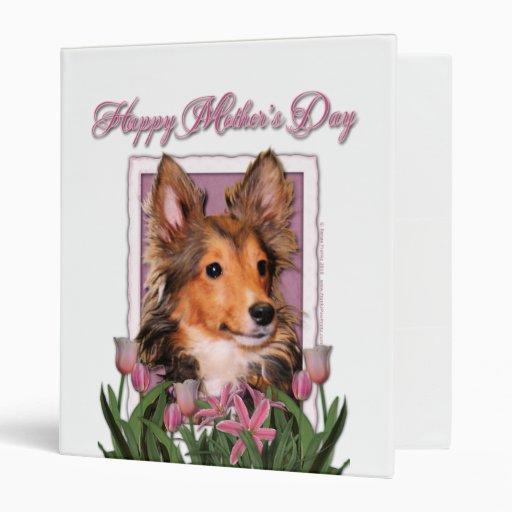 """Día de madres - tulipanes rosados - perrito de carpeta 1"""""""