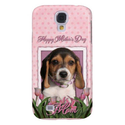 Día de madres - tulipanes rosados - perrito del be