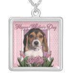 Día de madres - tulipanes rosados - perrito del be joyerias personalizadas