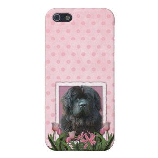 Día de madres - tulipanes rosados - Terranova iPhone 5 Cobertura