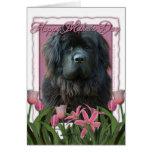 Día de madres - tulipanes rosados - Terranova Felicitación