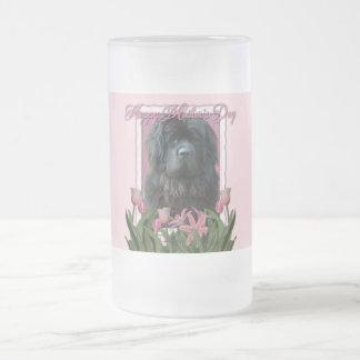 Día de madres - tulipanes rosados - Terranova Taza De Cristal