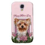 Día de madres - tulipanes rosados - Yorkshire Terr