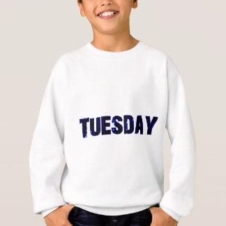 Día de martes de la mercancía de la semana sudadera