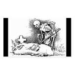 """Día de México el """"de los muertos"""" circa 1949 Plantillas De Tarjetas Personales"""