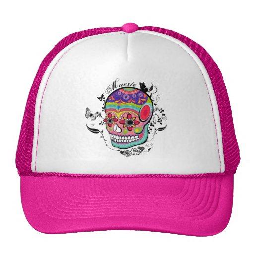 ¡Día de Muerte del gorra muerto del cráneo!