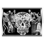 Día de Muertos/día de los muertos Tarjeta De Felicitación