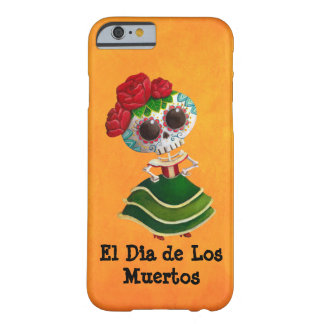 Dia de Muertos Mexican Miss Death Barely There iPhone 6 Case