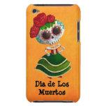 Dia de Muertos Mexican Miss Death iPod Case-Mate Cases