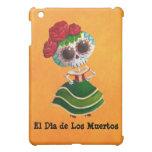 Dia de Muertos Mexican Miss Death iPad Mini Cover
