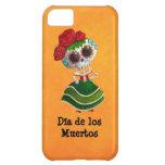Dia de Muertos Mexican Miss Death iPhone 5C Cover