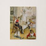 Día de navidad en el cuarto de niños 1894 rompecabezas