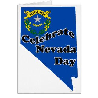 Día de Nevada Tarjeta