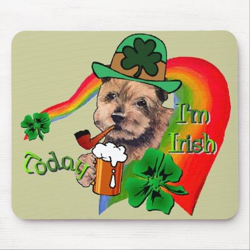Día de Norfolk Terrier St Patrick Alfombrilla De Raton